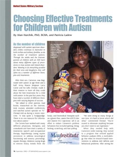 Exceptional Parent - Choosing Effective Treatments for Children with Autism