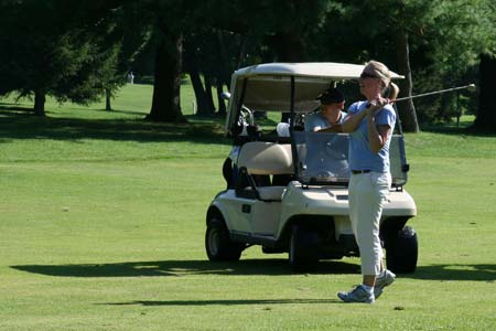 One of the golfers who took part in the tournament last year
